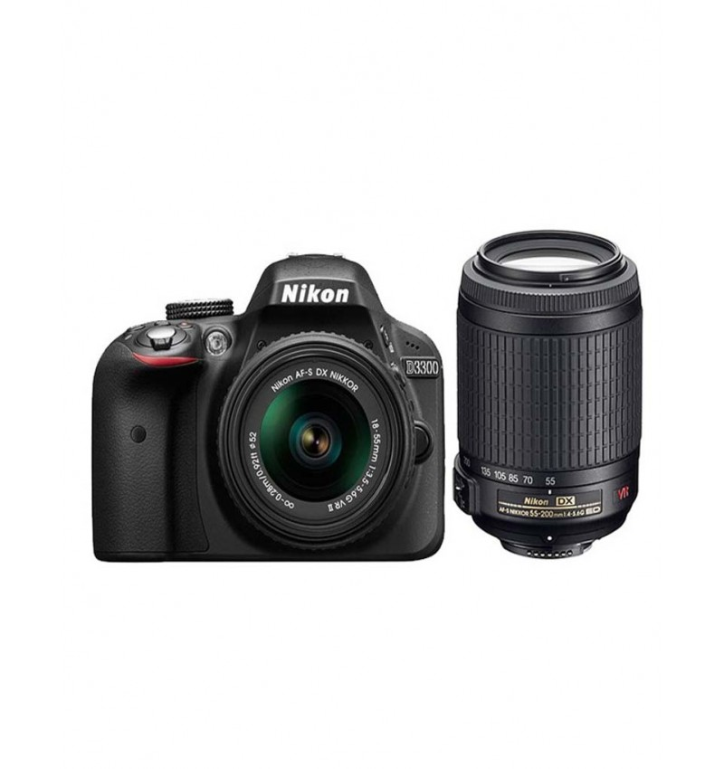 Nikon D3300 with AF-S 18-55 mm VR Kit Lens II   DSLR Camera