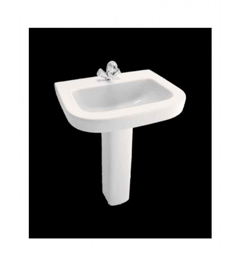 Cera Cruse White Ceramic Wash Basin