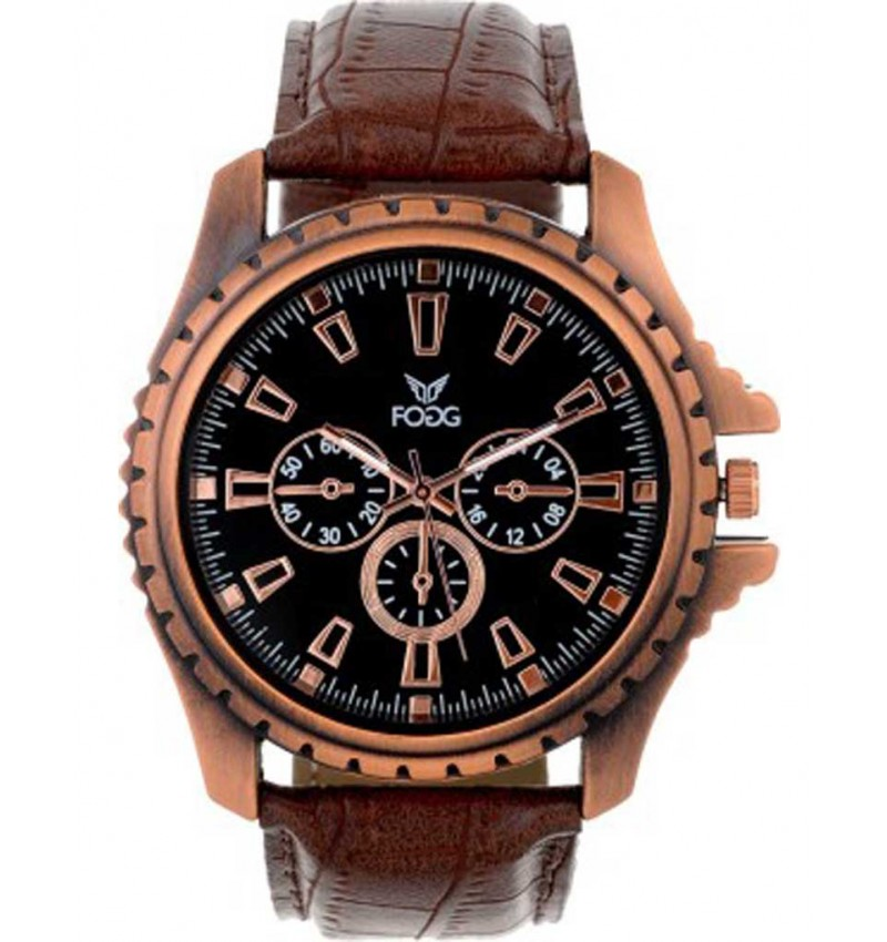 WI-Combination Tagged Decker Analog Watch