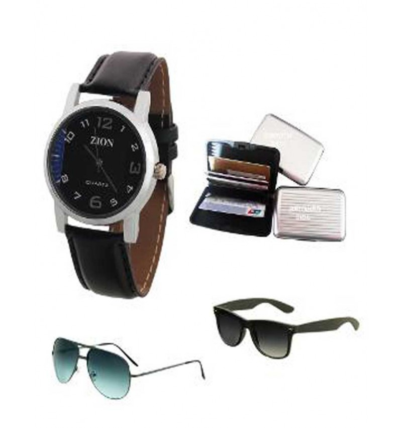 WI-Combo Watch, Sunglasses & Card Holder