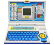 Kids English learner laptop  (Multicolor)