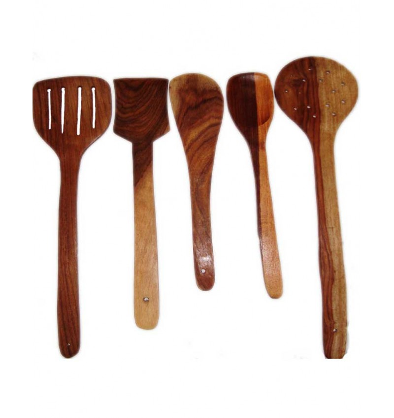 WI-High Quality Wooden Skimmer( Set of 5pcs )
